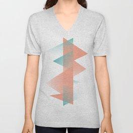 Pastel Peaks Unisex V-Neck