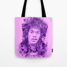 27 Club - Hendrix Tote Bag