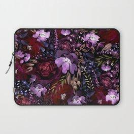 Deep Floral Chaos Laptop Sleeve