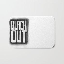 Black Out No.2 Bath Mat