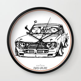 Crazy Car Art 0009 Wall Clock