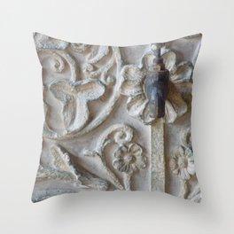 Floral Faucet Throw Pillow