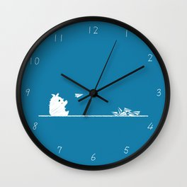 Spoiled Innocence Wall Clock