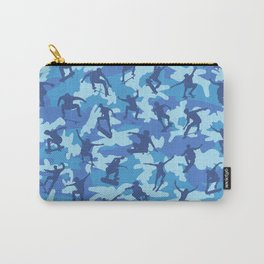 Skater Camo OCEAN Carry-All Pouch