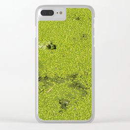 The frog game Clear iPhone Case