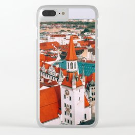 Hues Line is it Anyway? | Munich, Germany Clear iPhone Case