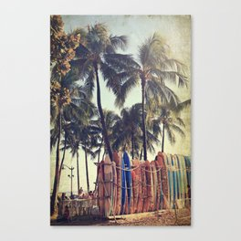 Classic Hawaii Canvas Print