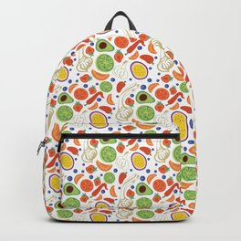 Fun Fruit and Veges Backpack