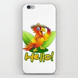 Macaw iPhone Skin