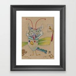 ART AND TOAST Framed Art Print