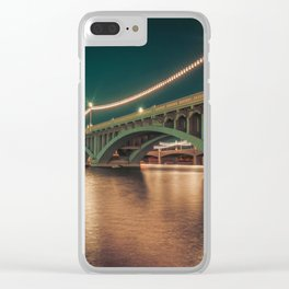 Tempe Town Lake Clear iPhone Case