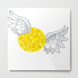 The Snitch (Harry Potter Fan Art) Metal Print