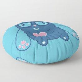 Mittstagrams - The Original Mitts (In Blue) Floor Pillow