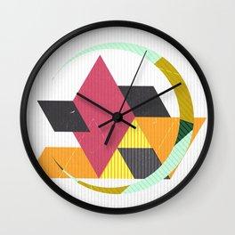 Geo 2 Wall Clock