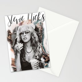 Stevie Nicks T-Shirt Poster , gift for him, gift for her, Music Poster Canvas Wall Art Home Decor Stationery Cards