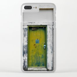 Green Mile Clear iPhone Case
