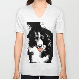 Dog II Unisex V-Neck