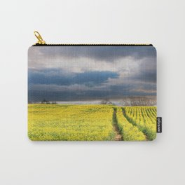 Rapeseed in the Spring Carry-All Pouch