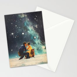 I'll Take you to the Stars for a second Date Stationery Cards