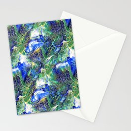 Blue Lacing Stationery Cards