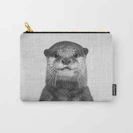 Otter - Black & White Carry-All Pouch
