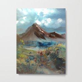 masal dağı Metal Print