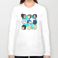 dmmd Long Sleeve T-shirts featuring DMMD- chibis by prpldragon