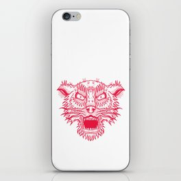 A Wolf. iPhone Skin