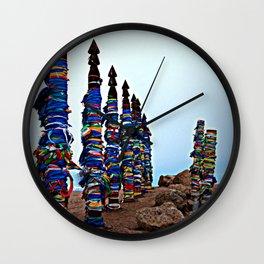 ceremonial posts Serge Olkhon Wall Clock