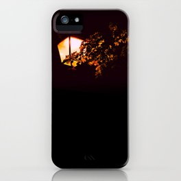 Night light - an illustrated poem iPhone Case