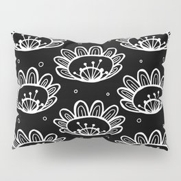 Pollen (in Black & White) Pillow Sham