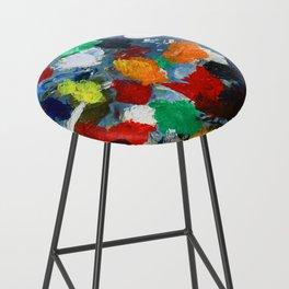 The Artist's Palette Bar Stool