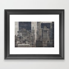 Concrete Jungle Framed Art Print