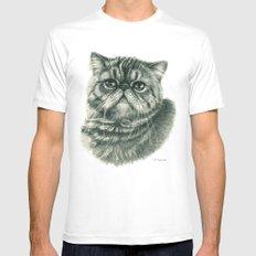 Shorthair Persan cat G088 Mens Fitted Tee MEDIUM White