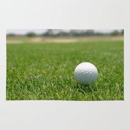Golf Ball Rug