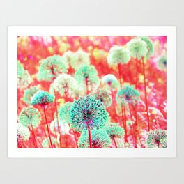 Flowers of Fantasy Art Print