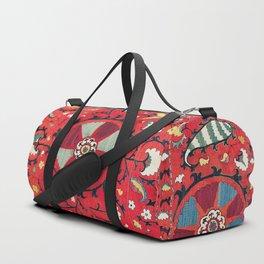 Lakai Suzani Samarkand Uzbekistan Embroidery Print Duffle Bag