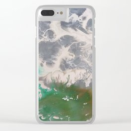 Over Ceres Clear iPhone Case