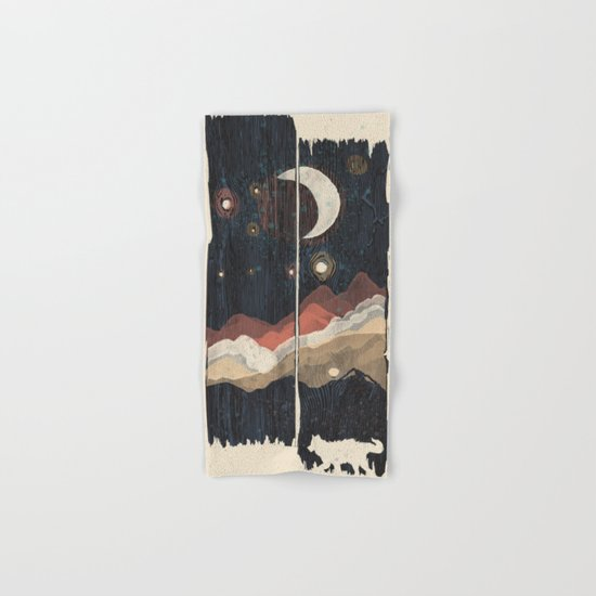 A Starry Night in the Mountains... Hand & Bath Towel