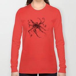 Star Octopus Long Sleeve T-shirt