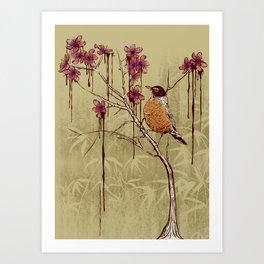 Tears of tree Art Print