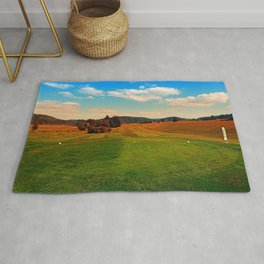 Summer season at the golf club | landscape photography Rug