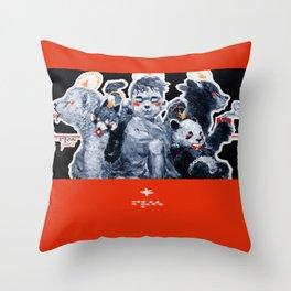 Cub Cuddlin' Throw Pillow