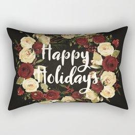 Happy Holidays 4 Rectangular Pillow
