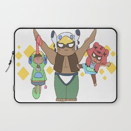 Leon, Nita and Bo cute design | Brawl Stars Laptop Sleeve