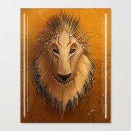 Spirit of the Lion Canvas Print