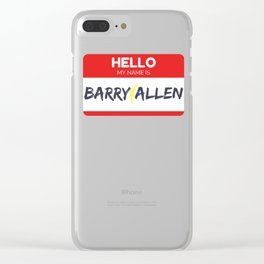The Flash Clear iPhone Case