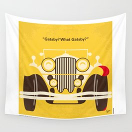 No206 My The Great Gatsby minimal movie poster Wall Tapestry