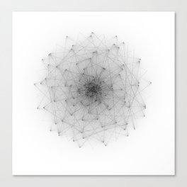 Wireframe Composition No. 22 Canvas Print