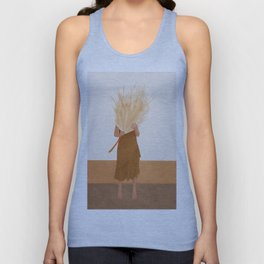 Dried Leaf Unisex Tank Top